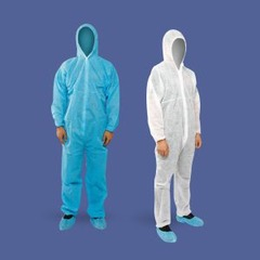 Coverall Level 1 Disposable Protective Suit in Wholesale