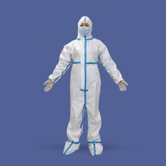 Reusable PPE Kit Coverall Breathable Suits Apparel